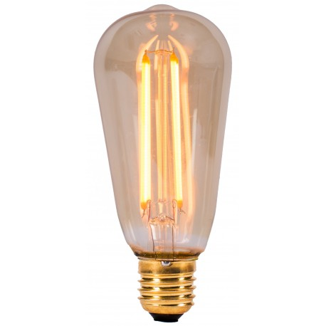 Vintage 4W LED Squirrel Cage E27 Bulb