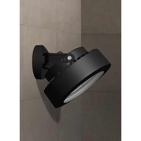 Tommy Wall Black Frosted LED GX53 7W 4000K Spotlight
