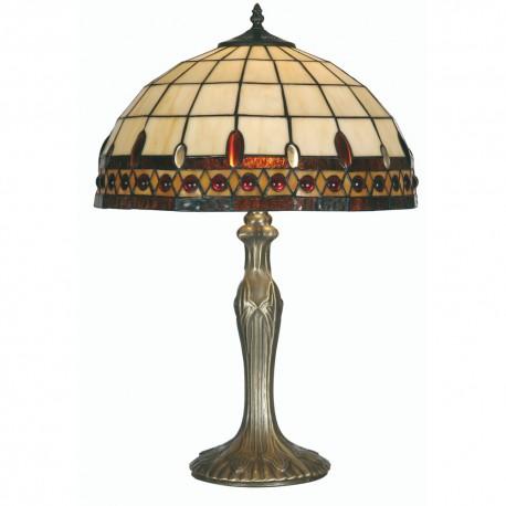 "Flute Tiffany Table Lamp 16"""