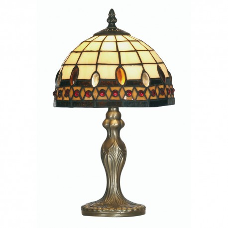 Flute Tiffany Table Lamp 8""
