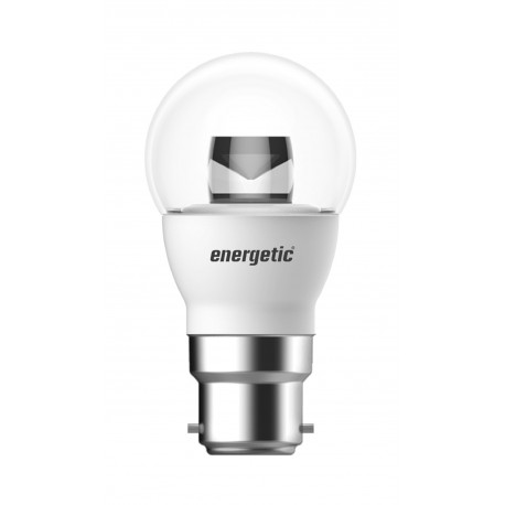 Mini Globe Clear Dimmable 5.5W 350L B22