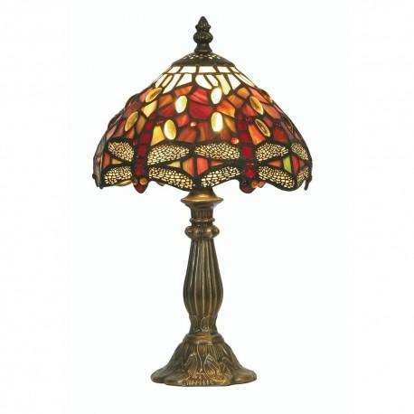"Dragon Fly Tiffany Table Lamp 7"""