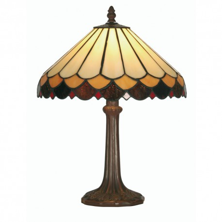 Lysander Tiffany Table Lamp 12""