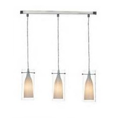 DAR Boda 3 Light Bar Pendant