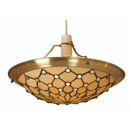 Jewel Tiffany Non Electric Shade