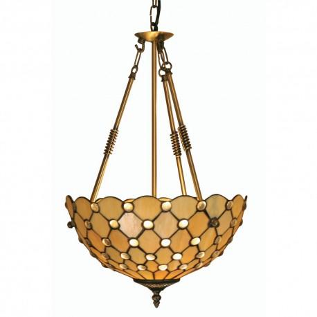 Jewel Tiffany Reverse Uplighter