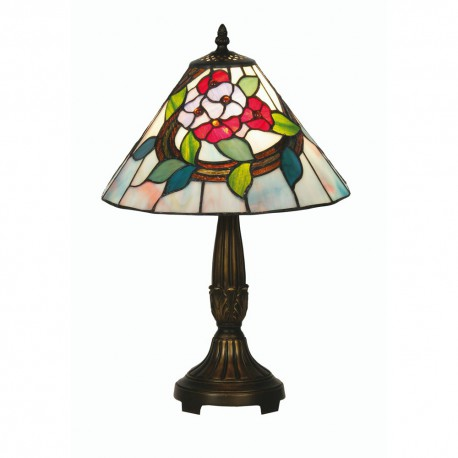 Belle Tiffany Table Lamp 12""