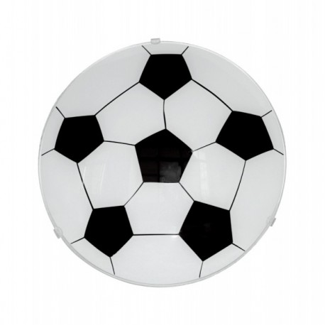 Football Semi-flush Light Fitting