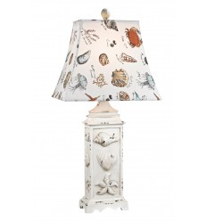 Seaside Scene Table Lamp
