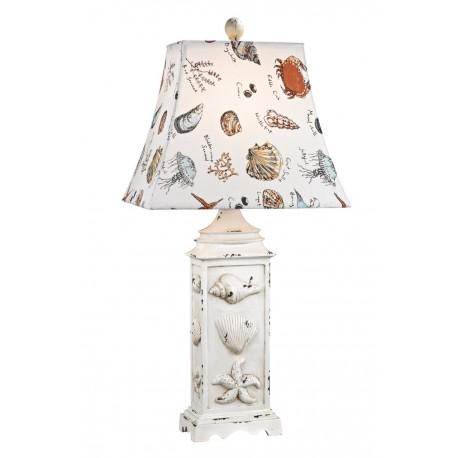 Seaside Scene Table Lamp