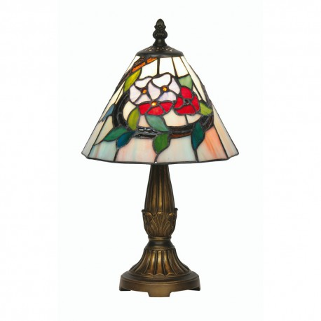 Belle Tiffany Table Lamp 8""