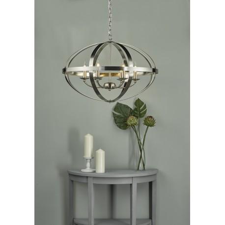 Symbol 6 Light Pendant