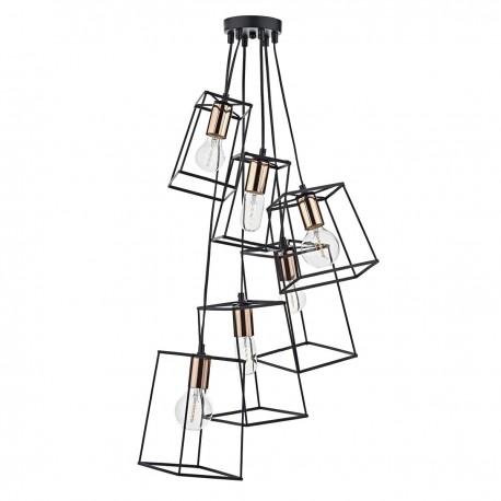 Tower 6 Light Cluster Pendant