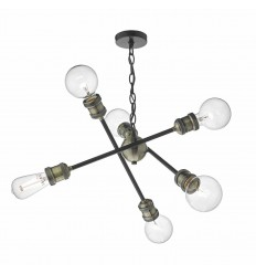 Brigade 6 Light Pendant