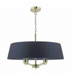 Cristin 4 Light Ribbon Shade Pendant