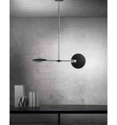 DAR Oundle 2 Light Pendant
