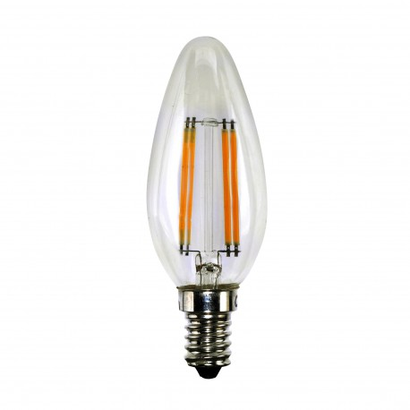 Candle Filament Dimmable 4W 340L E14