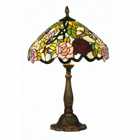 "Aspen Tiffany Table Lamp 16"""