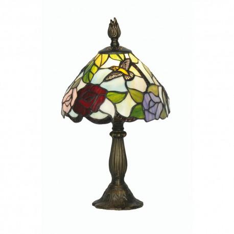 "Aspen Tiffany Table Lamp 8"""