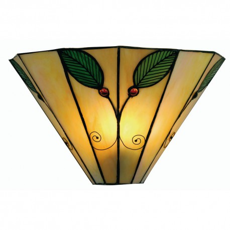 Leaf Tiffany Wall Light