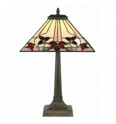 Camillo Tiffany Table Lamp 14""