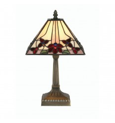 Camillo Tiffany Table Lamp 9""
