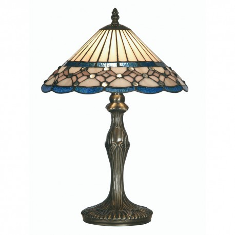 Aster Tiffany Table Lamp 12""
