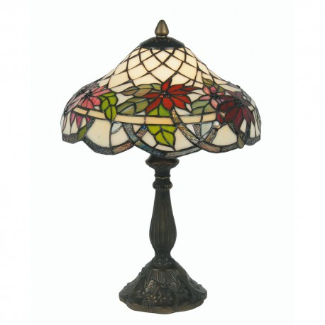 "Adara Tiffany Table Lamp 12"""