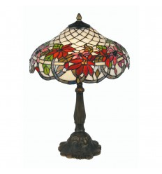Adara Tiffany Table Lamp 16""