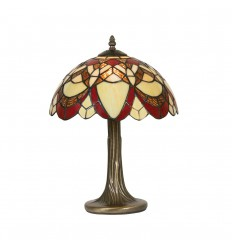 Caius Tiffany Table Lamp 12""