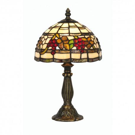 """Grapes Tiffany Table Light 8"""""""