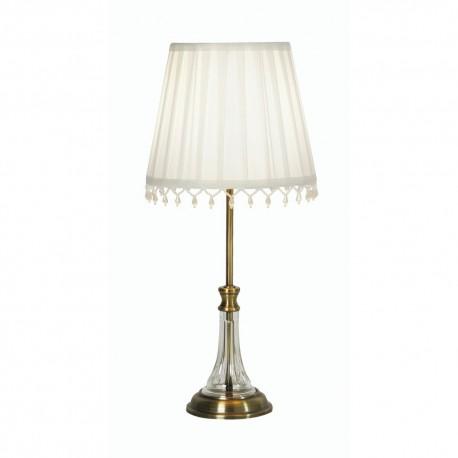 Gem Table Lamp Antique Brass