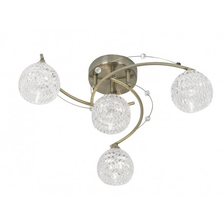 Pesaro 4 Light Semi-Flush