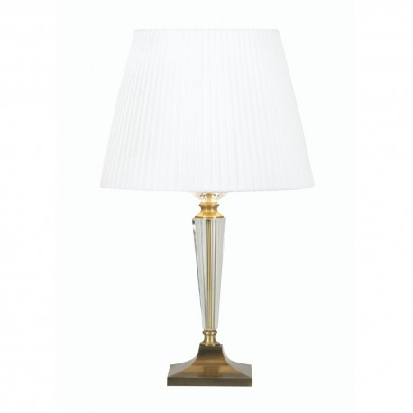 Vita Antique Brass Table Lamp