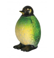 Penguin Mosaic Glass Table Lamp