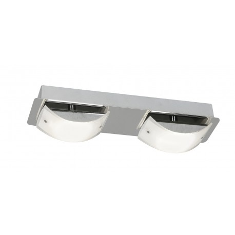 Torva Chrome 2 X 4.5W Wall Light