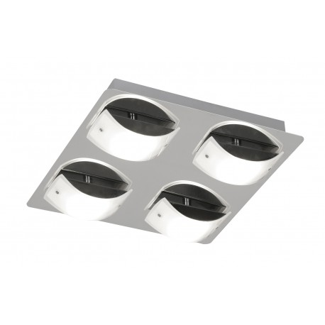 Torva Chrome 4 X 4.5W Ceiling Light
