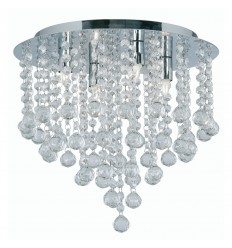 Balls Semi Flush Light Fitting