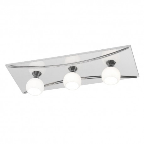Manzano Chrome Ceiling Light