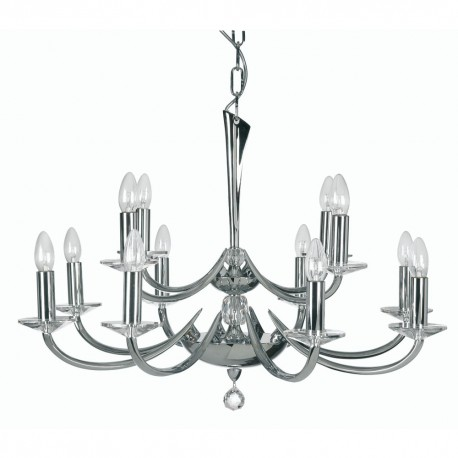 Oaks Bahia 12 Light Pendant