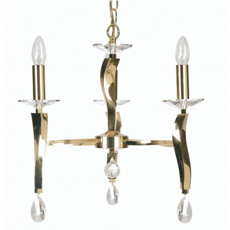 Oaks Aire 3 Light Pendant