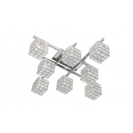 Mizar Chrome Ceiling Light