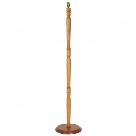 Wooden Floorstand without Shade
