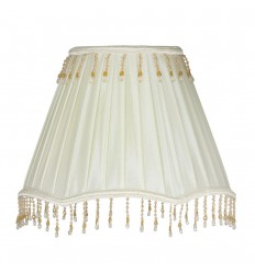 "10"" Box Pleat Shade"