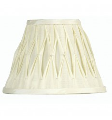 "10"" Pinched Pleat Sutlej Silk Shade"