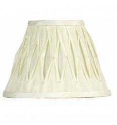 "10"" Pinched Pleat Sutlej Silk Shade"