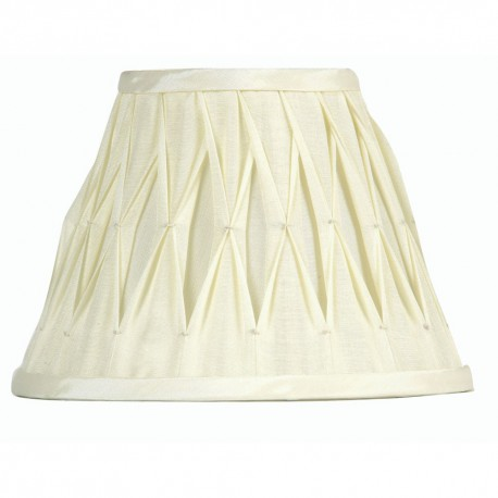 "16"" Pinched Pleat Sutlej Silk Shade"