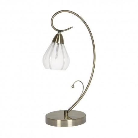 Rowan Antique Brass Table Lamp