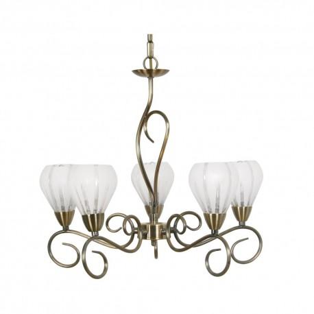 Rowan Antique Brass Pendant