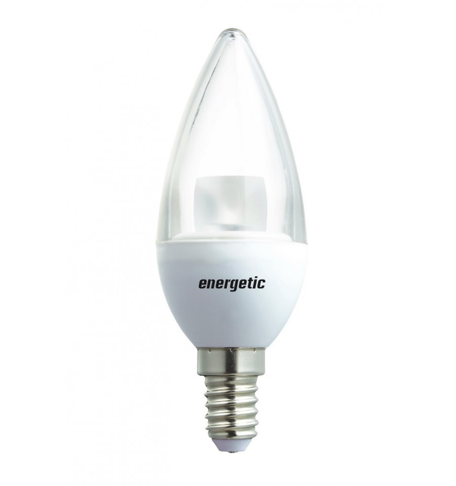 Candle Clear Dimmable 5 5w 350l E14 Hegarty Lighting Ltd